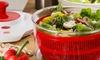 Salad Prep Pro All-in-One Spinner, Shredder, and Slicer