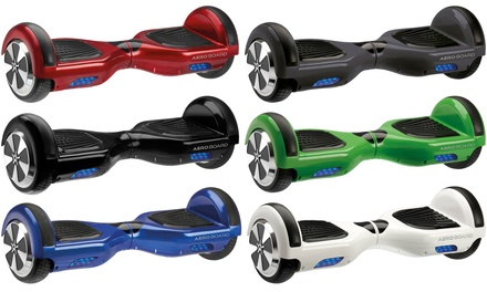 AeroBoard UK-Certified Hoverboard with Optional Carry Bag