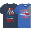 Kid's Patriotic Tees in Toddler and Youth Sizes