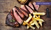 Flat Iron Steak Meal for Two