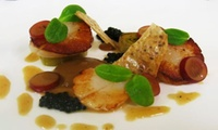 Four-Course Lunch for Two or Four at The Old Vicarage (33% Off)