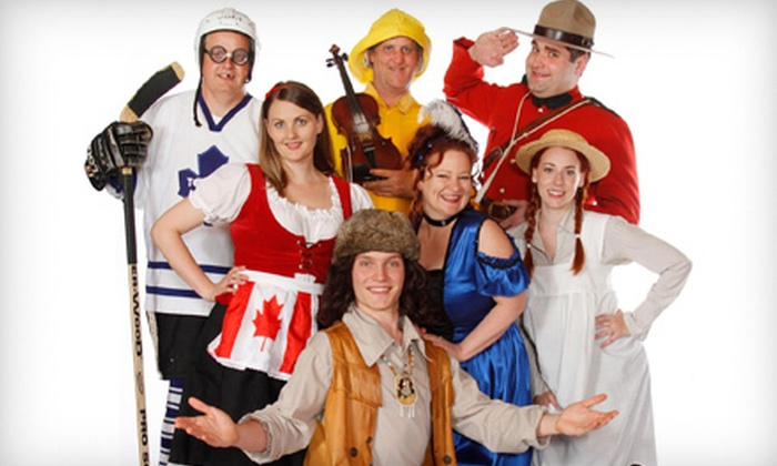 Oh Canada Eh? Dinner Show - Oh Canada, Eh? Theatre: Oh Canada Eh? Dinner Show Package for One, Two, or Four (Up to 64% Off)