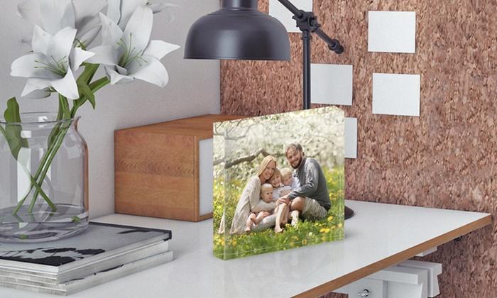 Picanova: 1, 2 ou 4 blocs photo en plexiglas 10x10 cm dès 5,99 € avec Picanova (jusqu'à 86% de réduction)