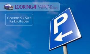Looking4Parking: 20% Rabatt auf Parken an teilnehmenden Flughäfen für 1 € mit Looking4Parking