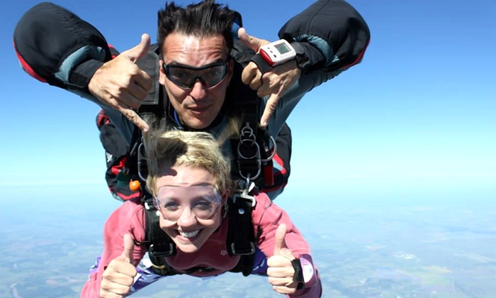 Westside Skydivers - Multiple Locations: One, Two, or Four Groupons, Each Good for a Tandem Jump from Westside Skydivers (Up to 48% Off)