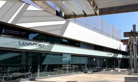 3, 6 o 12 meses de acceso al gimnasio desde 34,90 € en Levsport