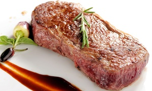 Solo Restaurant + Bar: 8oz Steak Meal with Choice of Sides and Sauce for Two or Four at Solo Restaurant + Bar (52% Off)