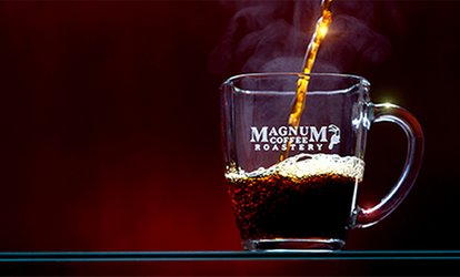image for $11 for $20 Worth of Coffee Drinks and Coffee Beans at Magnum Coffee Roastery