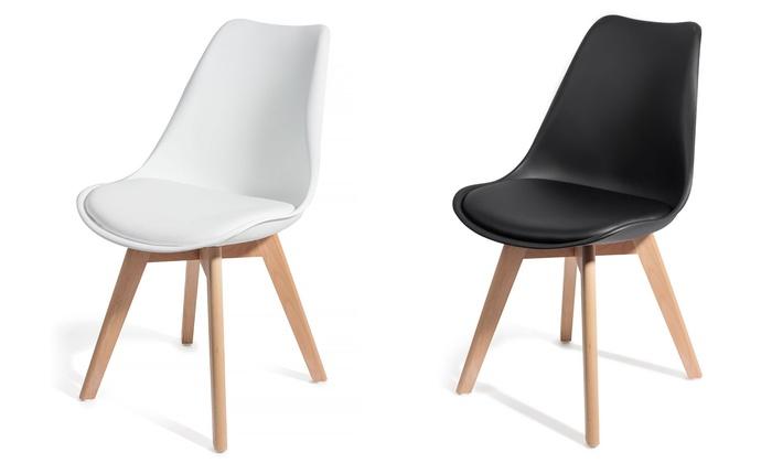 Lot de 2 ou 4 chaises scandinaves Brekka, dès 79,90 €