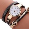 Montre double bracelets