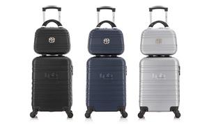 Set valise cabine et vanity, collection Aurelia-H