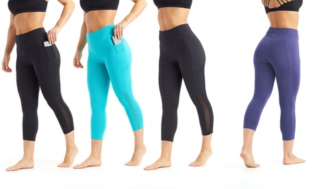 Marika Balance Collection Women's Tummy Control Leggings with Pocket. Plus Sizes Available. 27340d52-877d-4727-982b-fd3d247b88dc