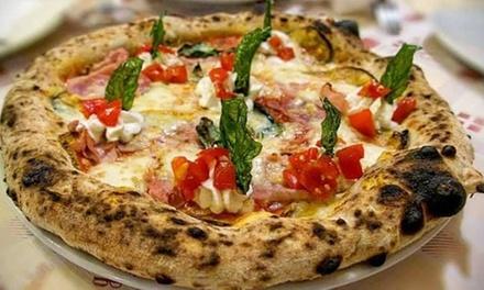 ⏰ Menu Pizza con dolce e bibita