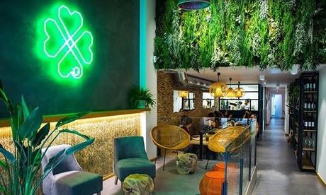 Menú para 2 o 4 con entrante, principal, postre, bebida y opción a botella de vino desde 19,95 € en Chaitea Restaurante Oferta en Groupon