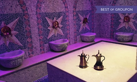 Turkish Bath Spa Package for One or Two, or for Three with Jacuzzi Access at Hammam Spa (Up to 65% Off) (London)