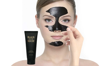 black peel  mask  oz