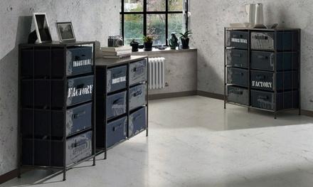 Slaapkamer ladekasten met 2 tot 8 lades en industriële look vanaf € 59,99