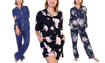 Angelina Women's Pajama Sets or Sleep Bottoms. Plus Sizes Available