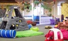The Sandbox Indoor Playground & Consignment - Perinton: $15.40 for Four Indoor Open-Play Playground Visits at The Sandbox Indoor Playground & Consignment ($28 Value)