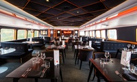R.S Hispaniola: Three-Course Meal with Prosecco and Thames Cruise Tickets for Two or Four (Up To 53% Off)