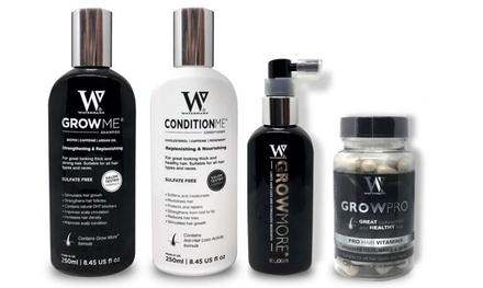 Watermans Grow Me Shampoo, Conditioner, Elixir or Vitamins