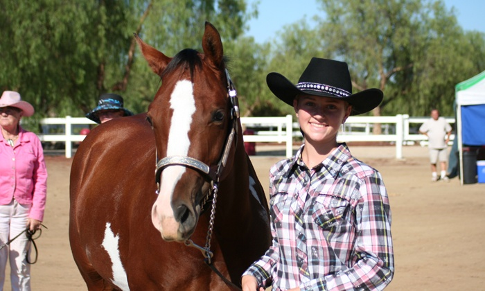 The Riding Academy - Perris Valley: $29 for Two 60-Minute Group Horseback-Riding Lessons at The Riding Academy ($80 Value)