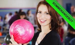 Blu Bowl Augsburg: 2 oder 3 Std. Bowling für bis zu acht Personen im Blu Bowl Augsburg (bis zu 80% sparen*)