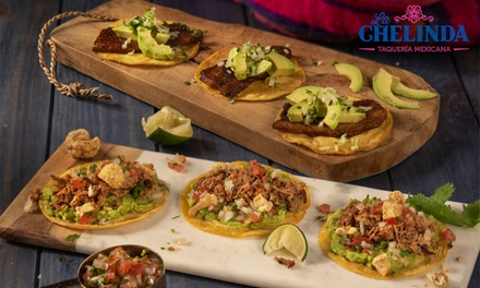 Menú clásico para 2 con entrante, principal y bebida en La Chelinda (hasta 54% de descuento)