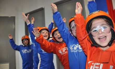 iFLY Indoor Skydiving Perth: 2 Flights Person $74 or Kids Package for Up to 10 with 2 Flights Each $449