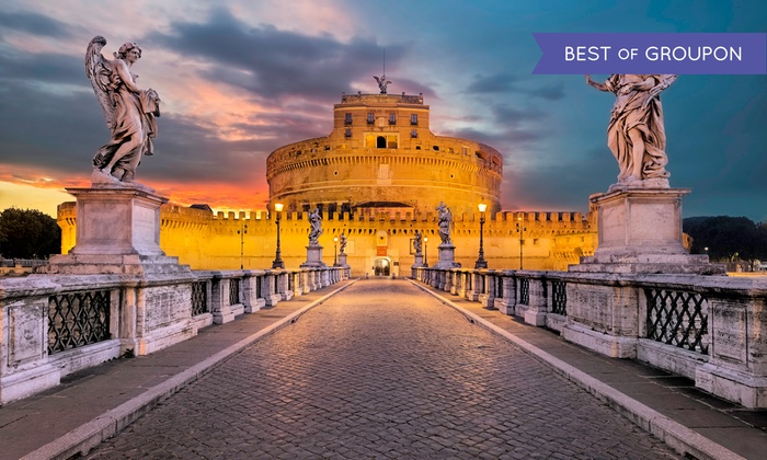 6-Day Rome Vacation with Airfare from go-today