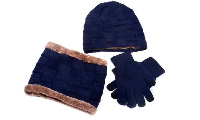 jusqu'à 53% Set bonnet, écharpe, gant enfant | Groupon