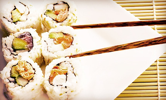 Fuji Japanese Steak House, Hibachi, & Sushi - Rome: $12 for $25 Worth of Japanese Cuisine at Fuji Japanese Steak House, Hibachi, & Sushi (52% Off). Two Options Available.