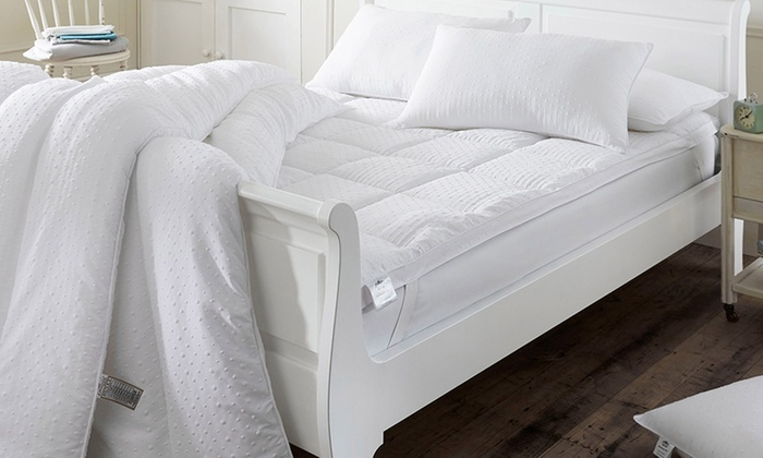 10.5- or 13.5-Tog Embossed Massage Duvet in a Choice of Size from £17
