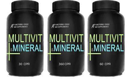 Fino a 360 compresse di multivitaminico e minerali A.I.F.