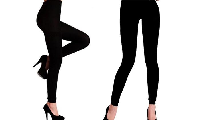 ברסקו - Merchandising (IL): מכנסי טייץ תרמיים ללא תפר, נעימים ומחממים  ב-39 ₪ בלבד, 3 יחידות ב-99 ₪