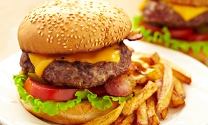 The Yard Ilkley: Burger Meal For Two for £10.50 at The Yard (58% Off)