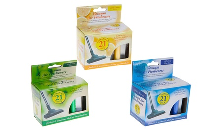21, 42, or 63 Vacuum Cleaner Air Fresheners