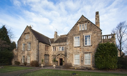 County Durham: 1 or 2 Nights for Two with Breakfast and Spa Treatment at Manor House Hotel