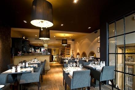 Lunch of diner voor 1, 2 of 4 personen bij Restaurant De Graslei