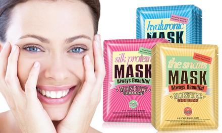 Fino a 12 maschere per viso Bioaqua monodose patch