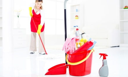 Up to Six Hour Maid Cleaning or Ironing Service at Clean ME