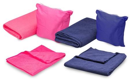 Toalla de fibra absorbente y de secado rápido
