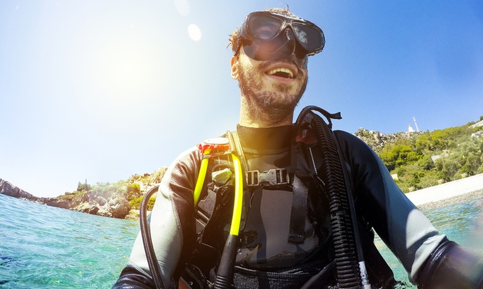Scuba Shade Diving - Multiple Locations: Choice of PADI Diving Course with Scuba Shade Diving (Up to 50% Off)
