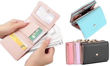 Heart Card Holder Wallet