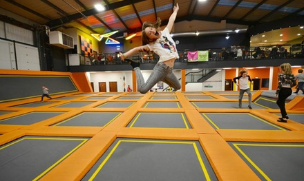 Two-Hour Daily Summer Jumping Pass for Up to Four at Air Vault (28% Off)