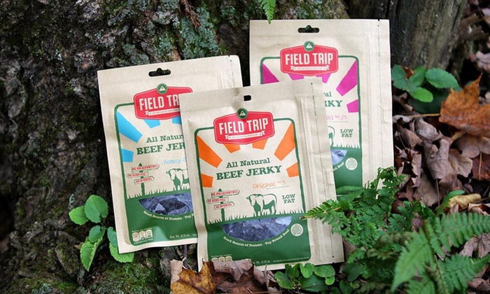 FIELD TRIP Jerky Variety 10-Pack: $32 for a FIELD TRIP Jerky Variety 10-Pack ($60 List Price). Free Shipping.