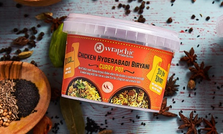 Biryani Pot with Drink for Up to Four at Wrapchic