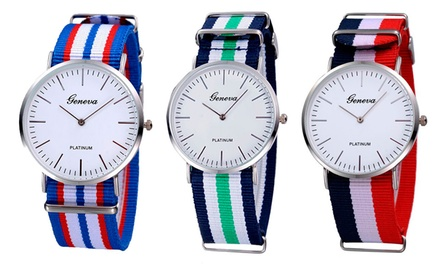 Relógio Geneva Platinum por 14,90€