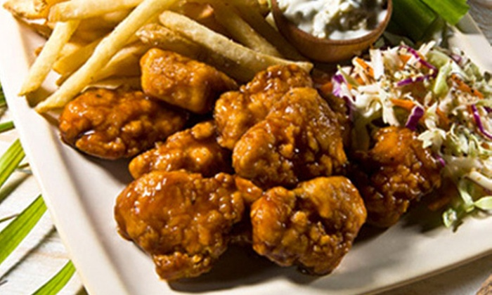 Hurricane Grill & Wings - Hot Wells: American Food for Two or More During Lunch or Dinner at Hurricane Grill & Wings (Up to 55% Off)