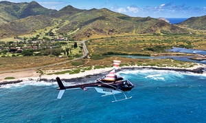 Genesis Helicopters: 20- or 65-Minute Helicopter Tour for Two or Four from Genesis Helicopters (Up to 45% Off)